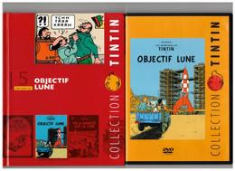 Tintin Hergé / Moulinsart 2010 Milou Chien Dog Objectif Lune Fusée Rocket Capitaine Haddock N°5 DVD + Livret Explicatif - Animation