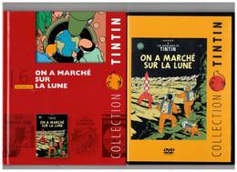 Tintin Hergé / Moulinsart 2010 Milou Chien On A Marché Sur La Lune Fusée Capitaine Haddock N°6 DVD + Livret Explicatif - Animation