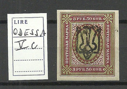 Ukraine Ukraina 1918 ODESSA OPT Michel 40 * - Oekraïne