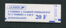Carnet Y&T N°1507 Neuf Sans Charnière **, Non Ouvert - Uso Corrente
