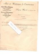 MEURTHE-ET-MOSELLE 54 LONGWY-HAUT LONGWY Bois SOMBRUN 1924 - Historical Documents