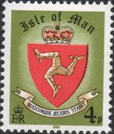 MAN (Ile De) - Blason Actuel De L'île - Stamps