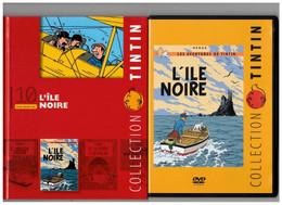 Tintin Hergé / Moulinsart 2010 Milou Chien Dog L'Île Noire N°10 DVD + Livret Explicatif En B.Etat - Animation