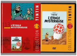 Tintin Hergé / Moulinsart 2010 Milou Chien Dog L'Etolile Mystérieuse Champignon Mushroom N°13 DVD + Livret Explicatif - Animation