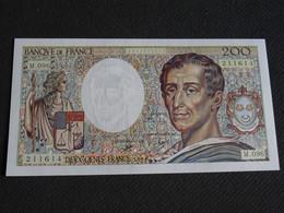 Billet 200F Montesquieu 1990 Garanti NEUF - 200 F 1981-1994 ''Montesquieu''