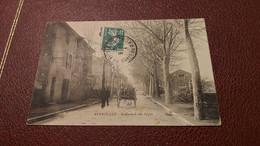 Ancienne Carte Postale - Peyrolles - Boulevard Des Alpes - Peyrolles