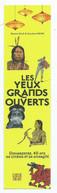 """MARQUE PAGE """" Les Yeux Grands Ouverts """"  ÉDITIONS LOCUS SOLUS - Marcapáginas"""