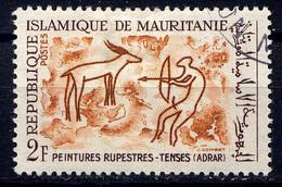 MRT - 218° - PEINTURES RUPESTRES DE TENSE - Mauritania (1960-...)