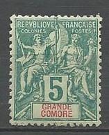 GRANDE COMORE N° 4 NEUF* FORTE CHARNIERE /  MH - Nuovi