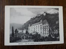 L19/1057 ROYAT . VUE DE L'HOTEL DE FRANCE ET D.ANGLETERRE - Royat