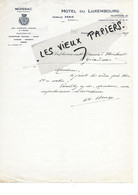 82 - Tarn-et-garonne - MOISSAC - Facture PERIE - Hôtel Du Luxembourg - 1929 - REF 178B - 1900 – 1949