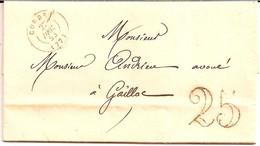 1I11  ---   81  CORDES   Type 15    DT 25 - 1849-1876: Periodo Clásico