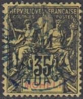Mohéli - N° 09 (YT) N° 9 (AM) Oblitéré. - Used Stamps