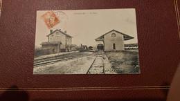 Ancienne Carte Postale - Peyrolles - La Gare - Peyrolles