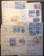 Lot De 36 Documents De Procuration Avec Timbres Fiscaux - Fiscale Zegels