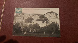 Ancienne Carte Postale - Peyrolles - Vue Du Chateau XVe Siecle Coté Levani - Peyrolles