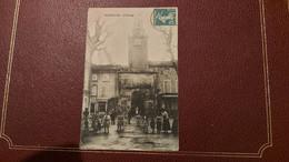 Ancienne Carte Postale - Peyrolles - L'horloge - Peyrolles