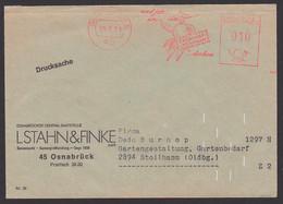 """Osnabrück AFS 25.5.71 """"Und Jetzt An Excelsio Sämereien Denken, Drucksache Samenzucht Obst Gemüse - Affrancature Meccaniche Rosse (EMA)"""