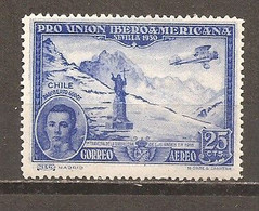 España/Spain-(MH/*) - Edifil  585 - Yvert Aéreo 77 - Neufs