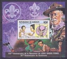 Chess Djibouti 1981 Conferencia Scout (**) - Schach
