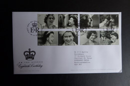 GREAT BRITAIN SG 2620-27 HM THE QUEEN 80 BIRTHDAY FDC - Ohne Zuordnung