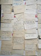 Lot De + 140 Cartes, Essentiellement Années 40, Qqs 50 - Visitenkarten