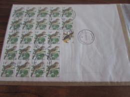 BUZIN: N° 2623 (22 X) + N° 2476 Sur Un Mutapost Oblitéré FLEMALLE 1. Spectaculaire Et Taxe Exacte! - Documents Of Postal Services