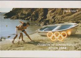 Germany Postcard 2004 Athens Olympic Games - Das Erste Wir Bringen Sie Hin! - Mint (G119-24) - Estate 2004: Atene