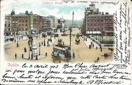 CARTE POSTALE DUBLIN IRLANDE - SACKVILLE STREET - Dublin