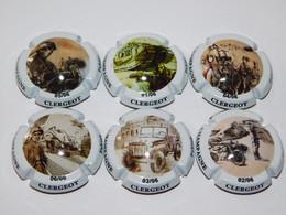 Série De 6 Capsules De Champagne - CLERGEOT FABIEN - Collections