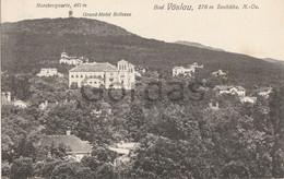 Austria - Bad Voslau - Grand Hotel Bellevue - Harzbergwarte - Baden Bei Wien