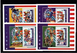 Soccer World Cup 1994 - GUINEA - 4 S/S MNH - 1994 – Estados Unidos