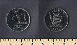 Zambia 50 Ngwee 1992 - Zambia