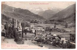 Ercé Près Aulus - Vue Générale - édit. Labouche Frères 244 + Verso - Otros Municipios