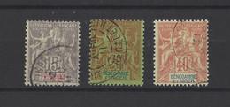 SENEGAMBIE ET NIGER.  YT   N° 6-7-10  Obl  1903 - Used Stamps