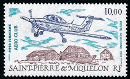 ST-PIERRE ET MIQUELON 1991 - Yv. PA 70 **   Faciale= 1,52 EUR - Avion Piper Tomahawk  ..Réf.SPM12610 - Neufs
