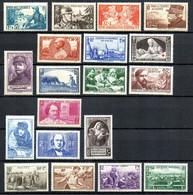 France  Année 1940 Complète    Neufs** - 1940-1949