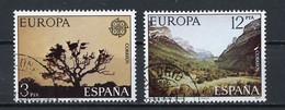 Espagne - Spain - Spanien 1977 Y&T N°2052 à 2053 - Michel N°2299 à 2300 (o) - EUROPA - 1971-80 Used