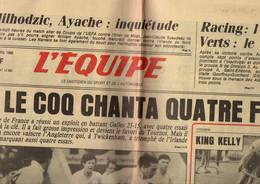 Journal L'équipe N°12384 Rugby Le Quinze De France Bat Le Pays De Galle - Cyclisme Paris-Nice - Formule 1 Senna De 1986 - 1950 - Nu