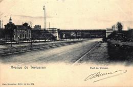 Belgique - Bruxelles - Woluwe - Avenue De Tervueren - Pont De Woluwé - Nesl Série 11 N° 274 - Woluwe-St-Lambert - St-Lambrechts-Woluwe