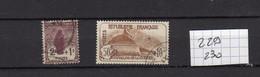 Lot Timbres Français De 1927, N° 229 Et 230 Orphelins De Guerre,  Oblitérés - Gebraucht