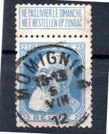 Belgie - Belgique - Momignies - 1905 Thick Beard