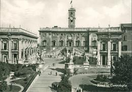 Alte Echtfotokarte - Italien - ROM, Campidoglio - Other Monuments & Buildings