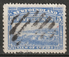 Newfoundland 1910 Sc 91  Used Perf 14x12 - 1908-1947
