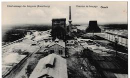 Charbonnage Des Liégeois (Zwartberg) - Chantier De Fonçage - Genck - Genk