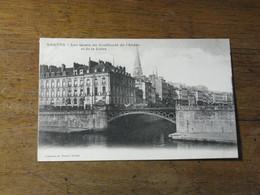 NANTES /  Les Quais Au Confluent De L'Erdre Et De La Loire - Nantes