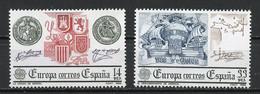 Europa CEPT 1982 Espagne - Spain - Spanien Y&T N°2285 à 2286 - Michel N°2545 à 2546 *** - 1982