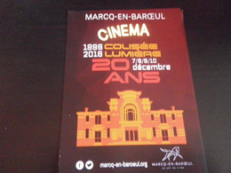 NORD - MARCQ EN BAROEUL - Cinéma - 20 Ans - Marcq En Baroeul