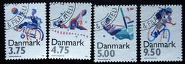 Denmark 1996 SPORT      MiNr. 1120-23  ( Lot B 744 ) - Gebruikt