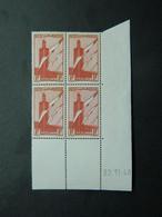 Maroc Poste Aérienne Yvert PA 44 Coin Daté 22.11.40 - Luftpost